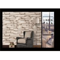 Quality Modern Removable 3D Brick Effect Wall Covering Waterproof For Living Room for sale