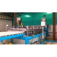 Quality PE / PP Sheet Plastic Plate Extrusion Line , Single Screw Extruder Machine for sale