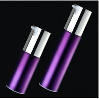 Buy cheap Top quality empty cosmetic container 15ml 30ml 50ml silver airless pump bottle from wholesalers