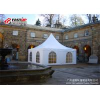 Quality Aluminum Pvc High Peak Festival Party Tent For 100 People Seater Guest for sale
