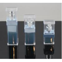 Quality 15ml 30ml 50ml classical square make up plastic cosmetic bottle for sale