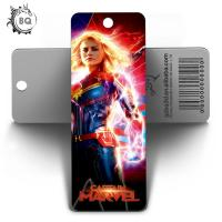Quality Custom Lenticular Promotional 3d Holographic Bookmarks 0.6mm PET+157g Coated Paper for sale