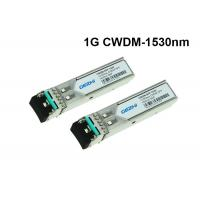Quality CWDM-SFP-1530 Cisco 1.25Gbps CWDM SFP Module 1530nm 80km optical transceiver for sale
