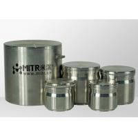 Quality Stainless Steel Ball Mill Jar 50ml - 2500ml Volume / Planetary Ball Grinding Jar for sale