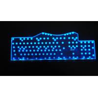 Quality Big Size Pink / Purple Bluetooth LED Backlight Keyboard For Laptop / IPAD Mini for sale