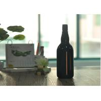 Quality Blown Cutting Glass Wine Bottles 1 Liter Glass Liquor Bottles Customized for sale