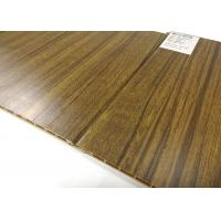 Buy Eco-friendly Wood Grain Waterproof Wall Panels / PVC Ceiling Panels at wholesale prices