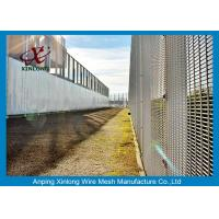 Quality Anti Cutting 358 High Security Fence / Security Mesh Fence For Military Base for sale
