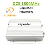 Quality 5000sqm High Gain Power 85dB 3W DCS 1800MHz Mobile Repeater,3W GSM 1800 MHz Cellphone Signal Booster Amplifier for sale