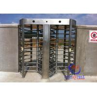 Quality Factory Supply Security Full High Turnstile , Customize Full Height Turnstile With RFID / Biometric System for sale