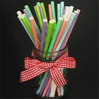 Quality Beautiful Decorative Paper Straws Drinking Straws Fit Family Gatherings for sale