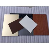 Quality Green PVDF Aluminum Composite Panel Sound Insulation With Weather Resistance for sale