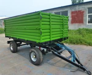 Quality Tractor Mounted 60hp Hydraulic 5t Self Dumping Trailer Farm Tractor Attachments for sale