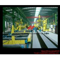 Quality 45° Fillet Welding Flat Position Gantry Welding Machine With SAW Welder for H Beam Production for sale