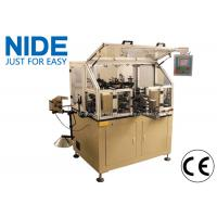 Quality Manual Motor Rotor Winding Machine Touch Screen For Hook Type Commutator Armature for sale
