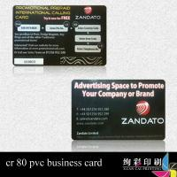 Quality CMYK Printed Plastic Cards for sale