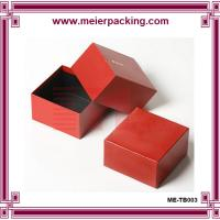Quality custom wedding cardboard box | paper jewelry ring boxes| Paper Jewelry Box ME-TB003 for sale
