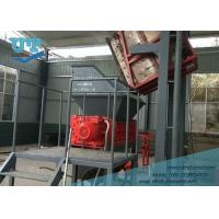 China Harzarous Waste Processing System, metal paint barrel shredder, bio-medical waste shredder,equiped with elevator on sale