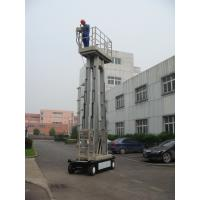 China 10m  Four Mast Truck Mounted Lift Platform For Continuous Aerial Working on sale