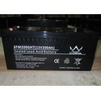 Quality Off Grid Power Inverter Ups Long Life Lead Acid Battery 200ah Maintenance Free for sale