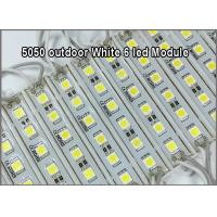 Quality 5050SMD LED light modules 6 led module advertisment lighting 12V waterproof IP68 for sale