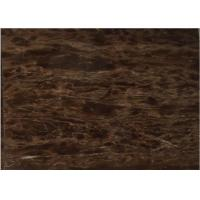 Quality China  coffee purple polished brown marble paving stone slabs tiles for sale