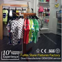 Quality high-end garment display stand design for store design with LED for sale