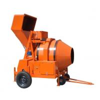 Buy cheap Diesel Engine Powered Reverse Drum Concrete Mixer , Concrete mixer , Mobile Concrete Mixer Trailer from wholesalers