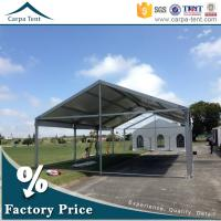 Buy Large Party Tent Anti-UV White Tents for Outdoor Party Functions at wholesale prices