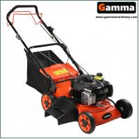 Buy cheap 18'' 3in1 lawn mower, cutting width 46cm, gasonline grass cutter, grass mower, steel desk from wholesalers