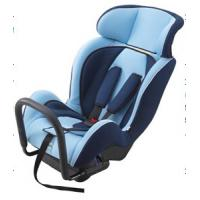 Buy cheap Portable Child Safety Car Seats With Adjustable Headrest / Fabric + Sponge from wholesalers