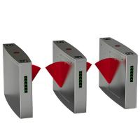 Quality High Sensitivity Access Control Barriers And Gates System With Wing Turnstile Flag for sale