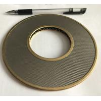 Quality 100 Micron 304 316 Stainless Steel Wire Mesh Filter Element 152mm Diameter for sale