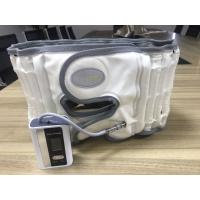 Buy White / Grey Lower Back Compression Belt Pu Leather Surface Light And Portable at wholesale prices