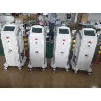 Quality 808 755 1064 Hair Removing Laser Machine With  Max 120J / Cm2 V Energy Density for sale