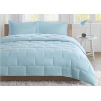 Quality Seersucker Warm Queen Size Down Comforter , Summer Weight Down Comforter for sale
