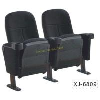 Quality Foldable Church Cinema Home Theater Seating Chairs With Flame Retardant Fabric for sale