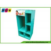 Buy Retail Shelf FSDU Cardboard Floor Displays With Pockets For Kids Clothes FL201 at wholesale prices