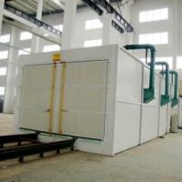 Quality Q26 series big tank sand blasting cleaning booth/shot blasting room for sale