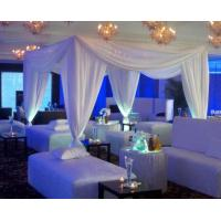Buy Stage backdrop event backdrop poles wedding decorate Pipe And Drape Wedding Backdrop curtains at wholesale prices