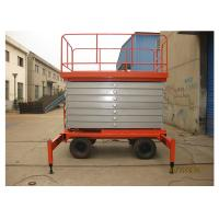 Quality Anti - Skid 8M Self Propelled Scissor Lift 2.45 * 1.35m Platform Size For Airport for sale
