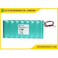 China 9.6V 1300mah AA NIMH Rechargeable Battery Pack OEM / ODM Acceptable on sale