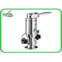 Quality Aseptic Sanitary Sample Valve , Tri Clamp Sample Valve For Brewery Industry for sale