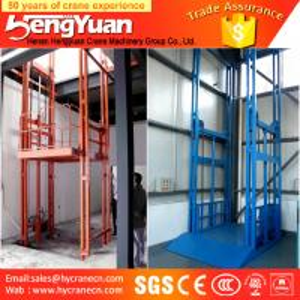 China 300-3000KG guide rail lift /telescopic lift /car lift hydraulic cylinder on sale