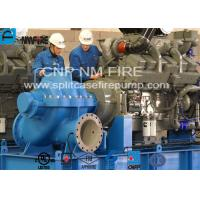 Quality Diesel Engine Driven Emergency Fire Pump Centrifugal For Terminals / Oil Depots for sale