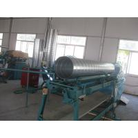 Quality Industrial Spiral Tube making machine With Galvanized Steel , Aluminum Duct Forming F1600 for sale