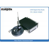 Buy NLOS RS232 Digital Data Transmitter UHF Radio Modem Point-to-multi-point at wholesale prices