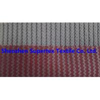 Quality Two Tone T/C Corduroy Velvet Fabric Dobby Die Cut for Garment Coat Trousers for sale