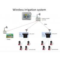 China 433MHz Wireless solenoid valve controller, pulse output controller, Wireless irrigation system for sale
