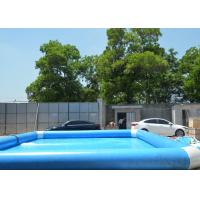 China 0.9mm PVC Large Inflatable Backyard Swimming Pool Commercial Grade on sale